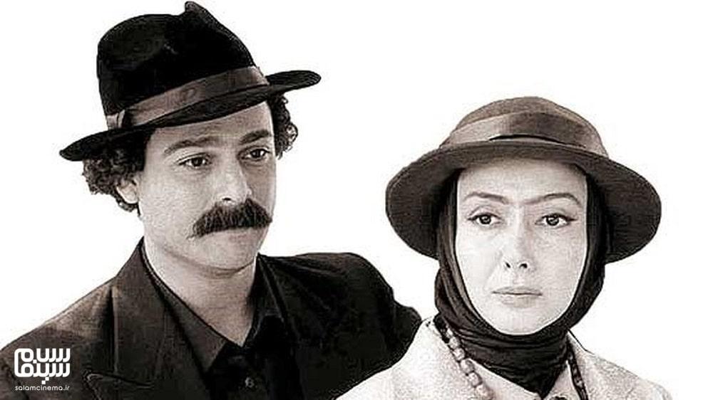 حسین یاری و کتایون ریاحی در لباس قاجاری در شب دهم- به یادماندنی ترین سریال های محرم تلویزیون ایران