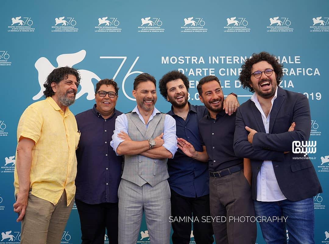فتوکال فیلم «متری شیش و نیم» در جشنواره فیلم ونیز 2019