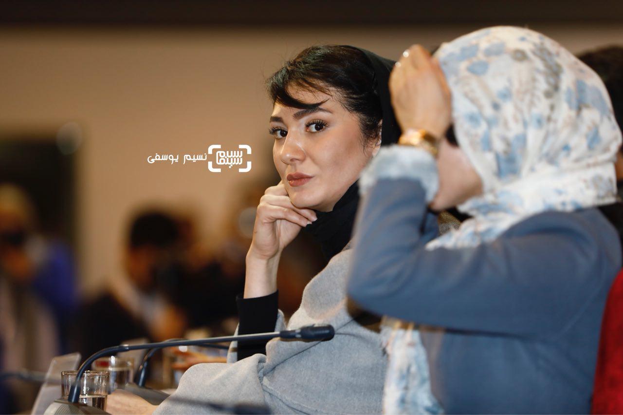 مینا وحید در اکران فیلم «هایلایت» در سی و ششمین جشنواره فیلم فجر