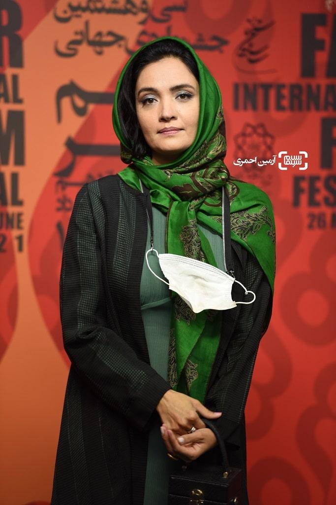 میترا حجار - سی و هشتمین جشنواره جهانی فیلم فجر - چارسو