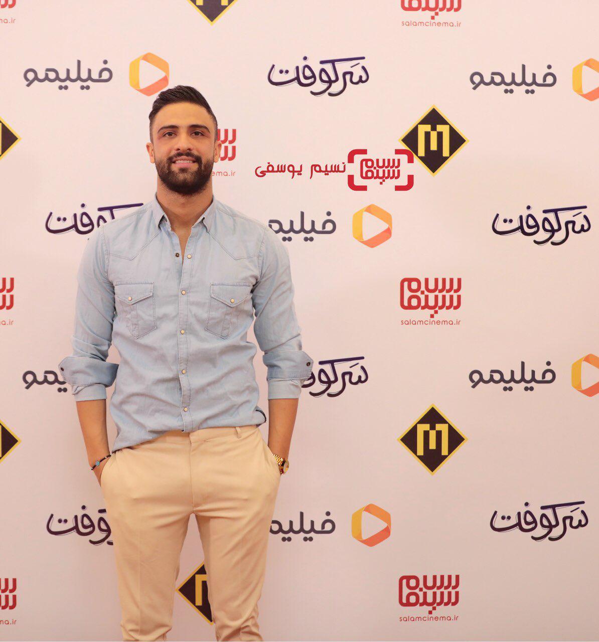 محمد معماریان دراکران خصوصی فیلم «سرکوفت» / گزارش تصویری