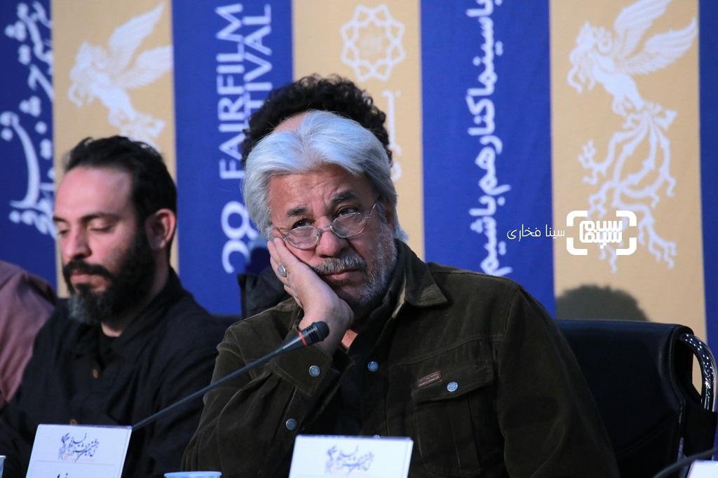محمد فیلی - گزارش تصویری - نشست خبری فیلم «خروج» - جشنواره فیلم فجر 38