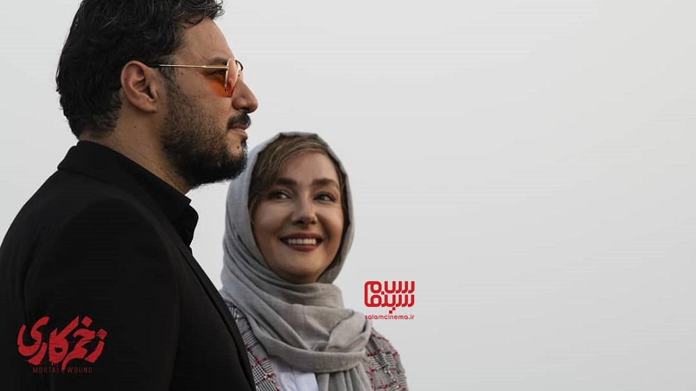 مالک و منصوره در زخم کاری - جواد عرتی و هانیه توسلی
