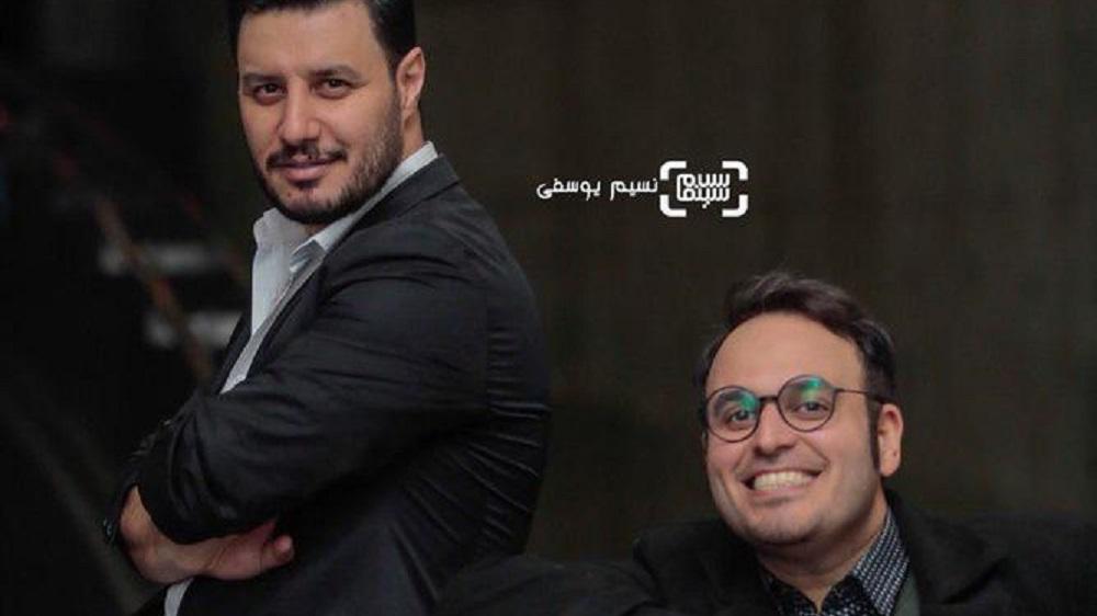 محمدحسین مهدویان و جواد عزتی در جشنواره فیلم فجر