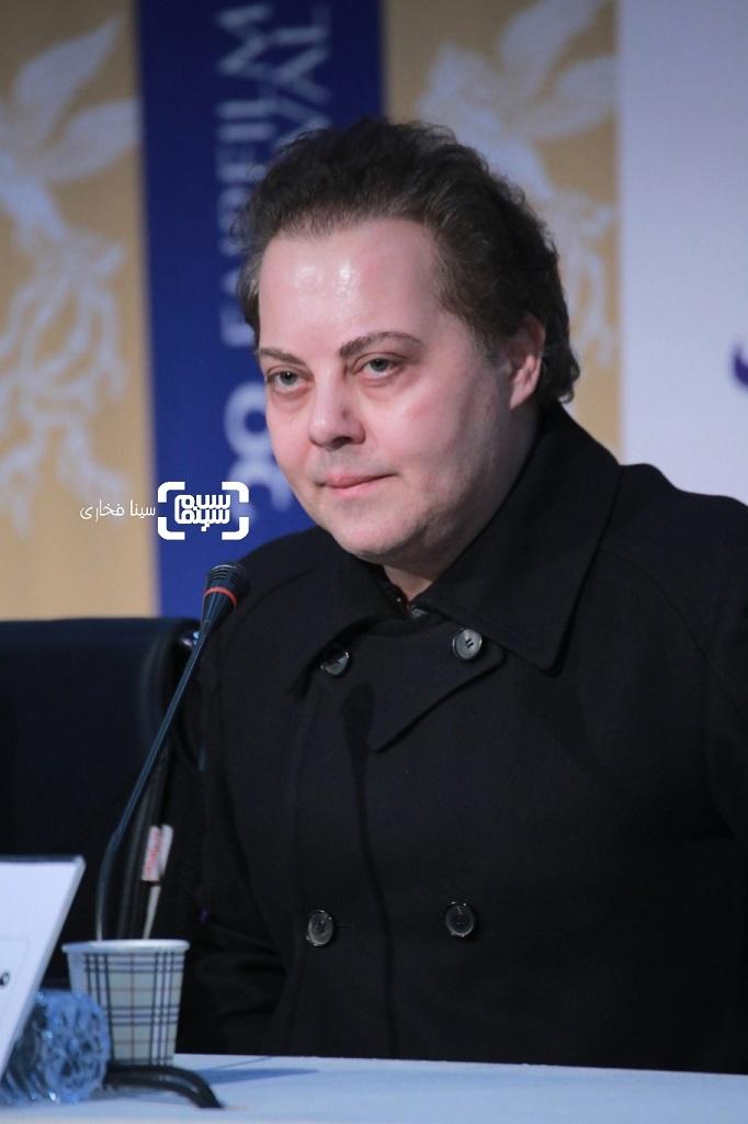 محمدهادی کریمی - گزارش تصویری - نشست خبری فیلم «پسرکشی» - جشنواره فیلم فجر 38