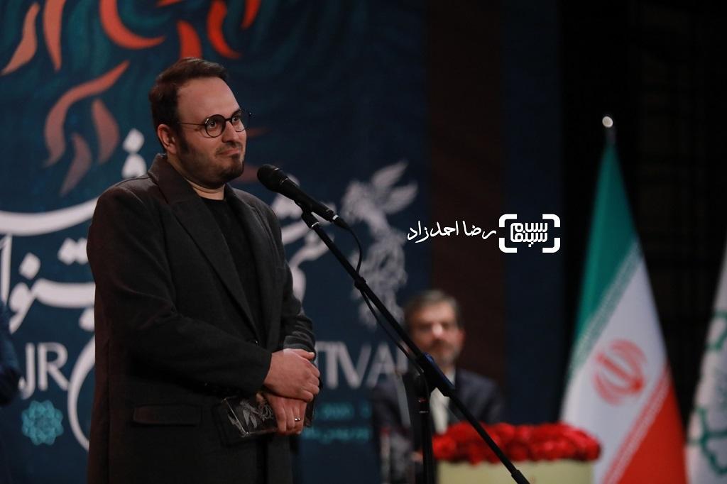 محمدحسین مهدویان - گزارش تصویری - اختتامیه جشنواره فیلم فجر 38(بخش اول)