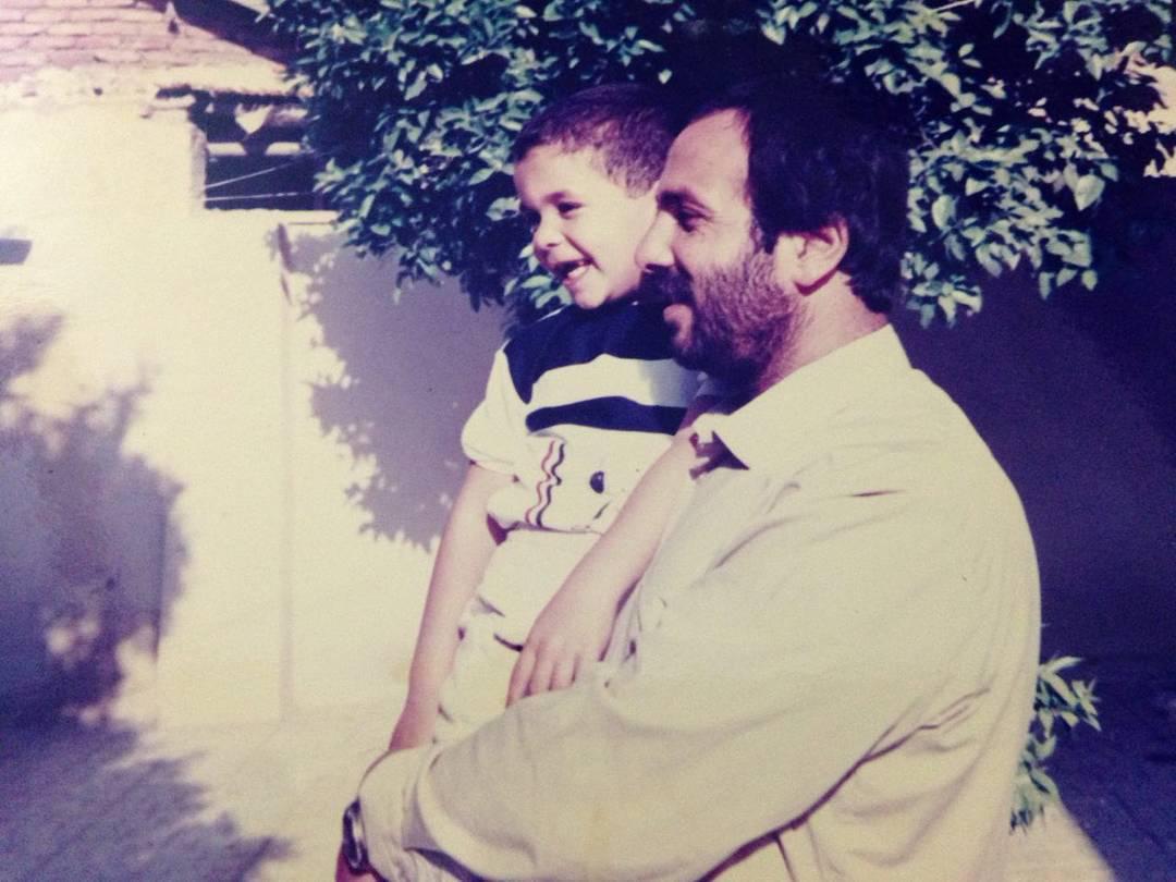 محمدحسین مهدویان و پدرش