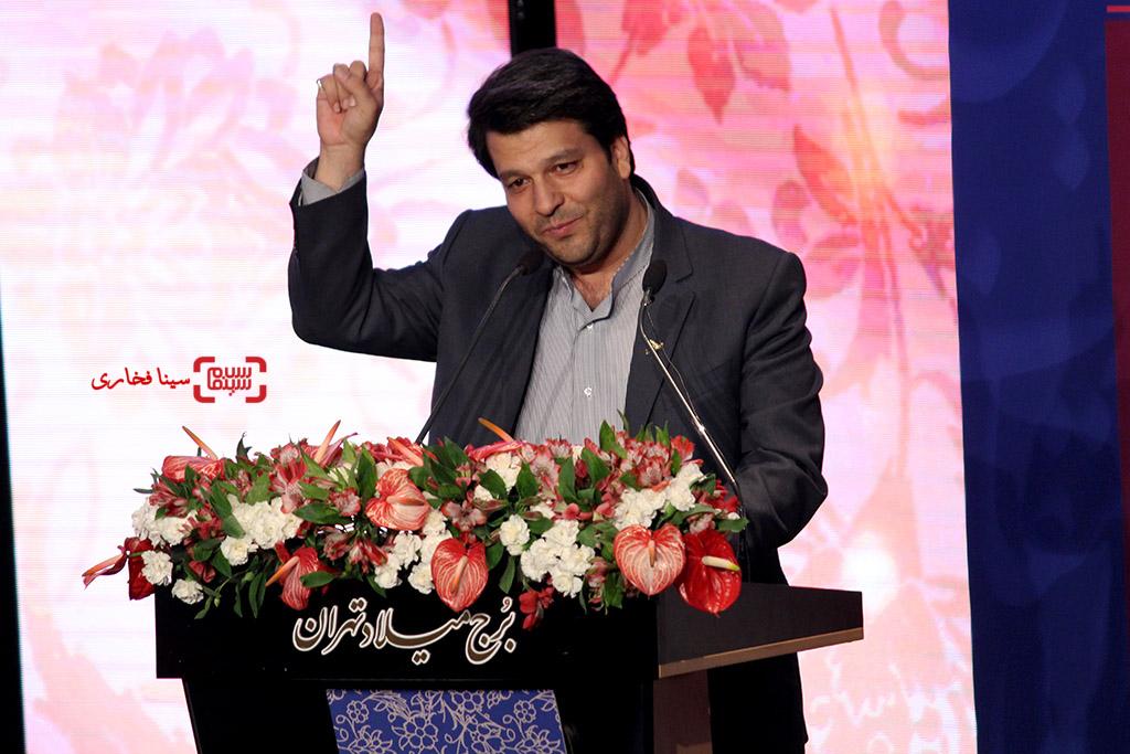 محمد خزاعی در اختتامیه جشنواره فیلم مقاومت