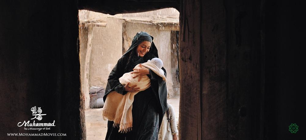 ساره بیات در فیلم محمد رسول الله Muhammad the messenger of god