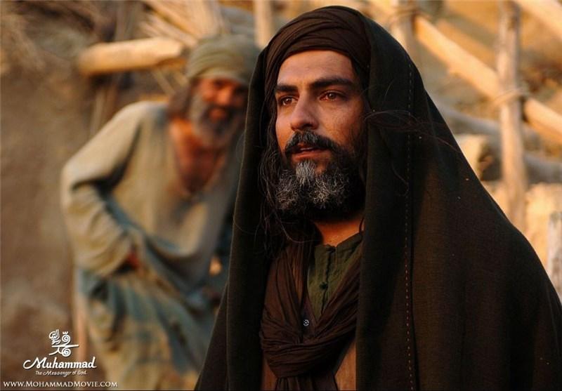 مهدی پاکدل در فیلم محمد رسول الله mehdi pakdel Muhammad the messenger of god
