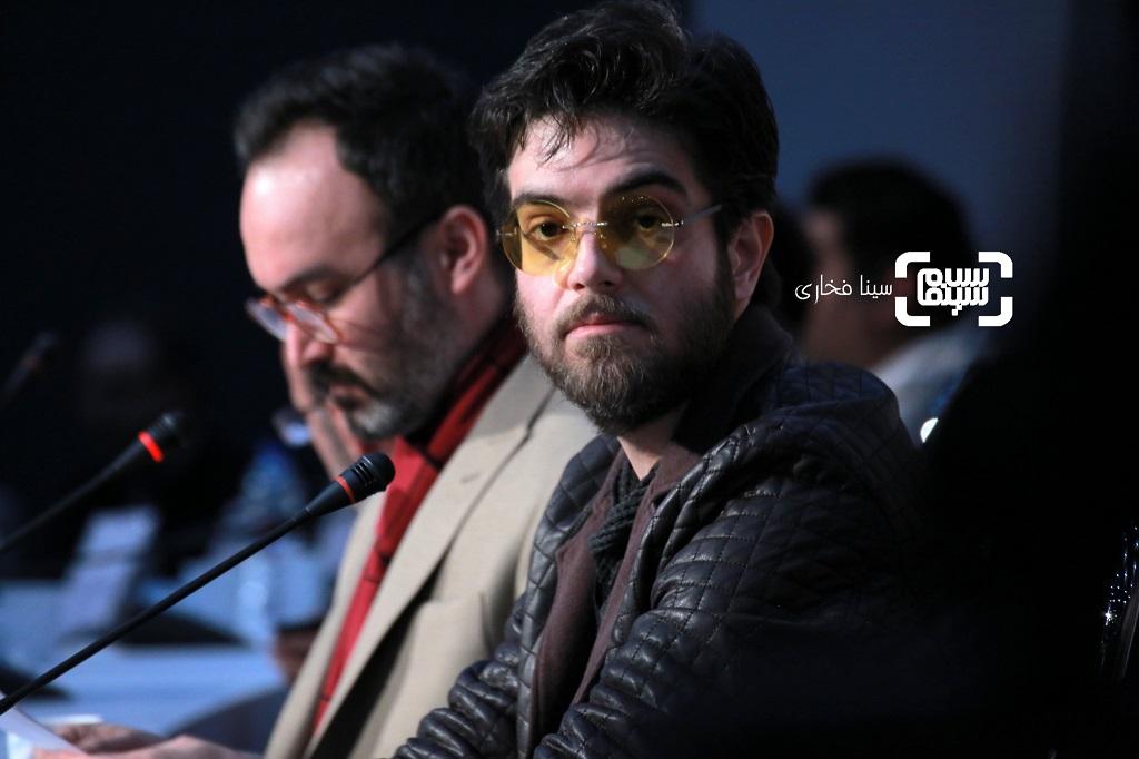 محمدرضا لطفی- گزارش تصویری - نشست خبری فیلم «تعارض» - جشنواره فیلم فجر 38