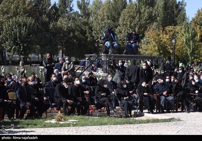 عکس - مراسم تشییع پیکر استاد محمدرضا شجریان