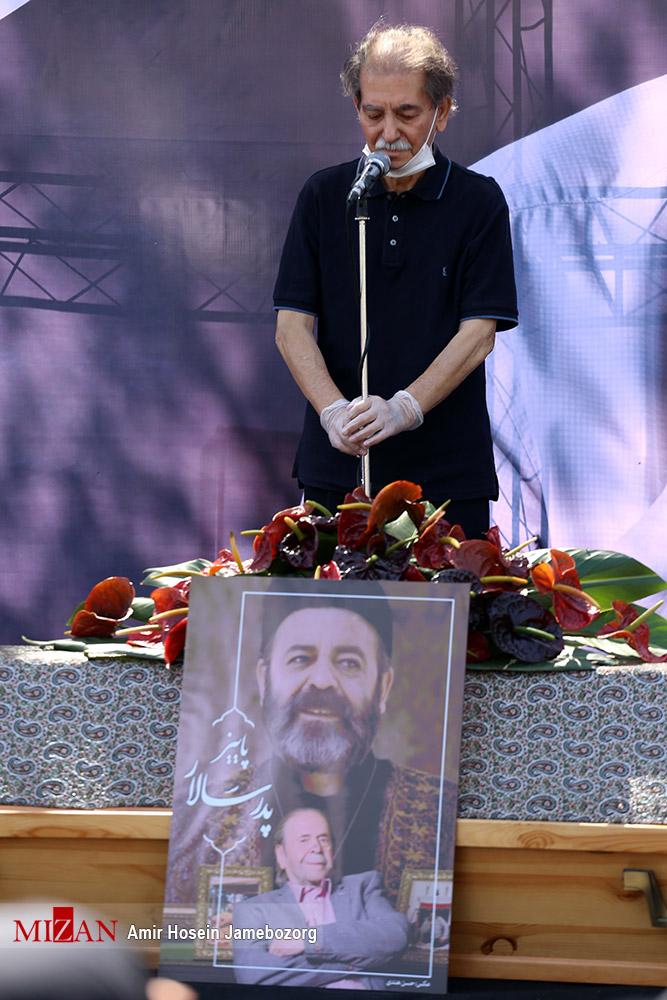 مراسم تشییع پیکر محمدعلی کشاورز - گزارش تصویری - اسماعیل شنگه