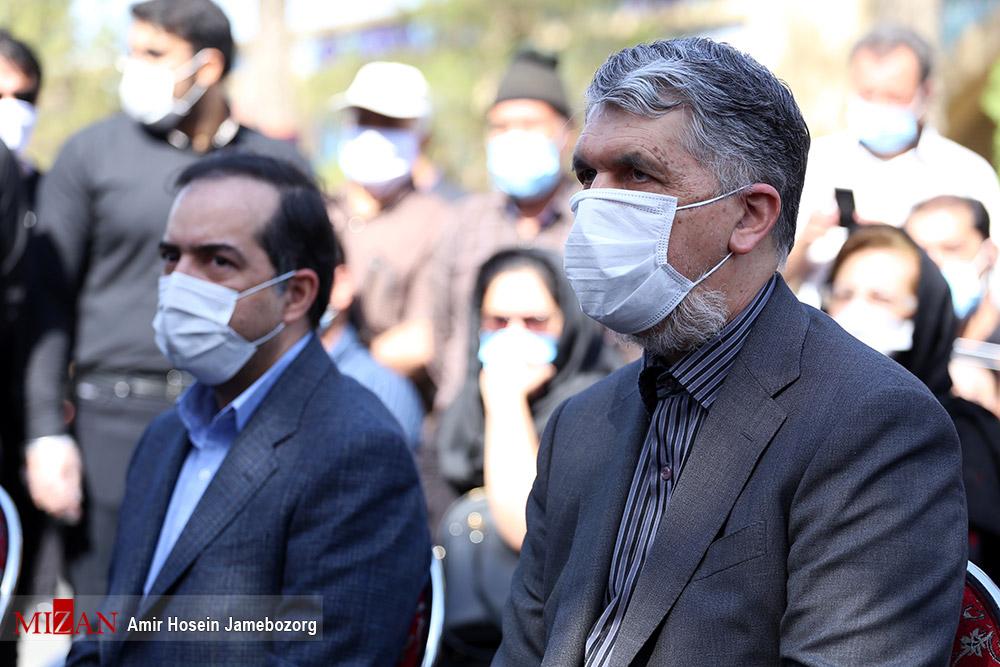 مراسم تشییع پیکر محمدعلی کشاورز - گزارش تصویری