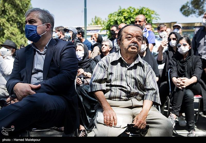 مراسم تشییع پیکر محمدعلی کشاورز - گزارش تصویری - اسدالله یکتا