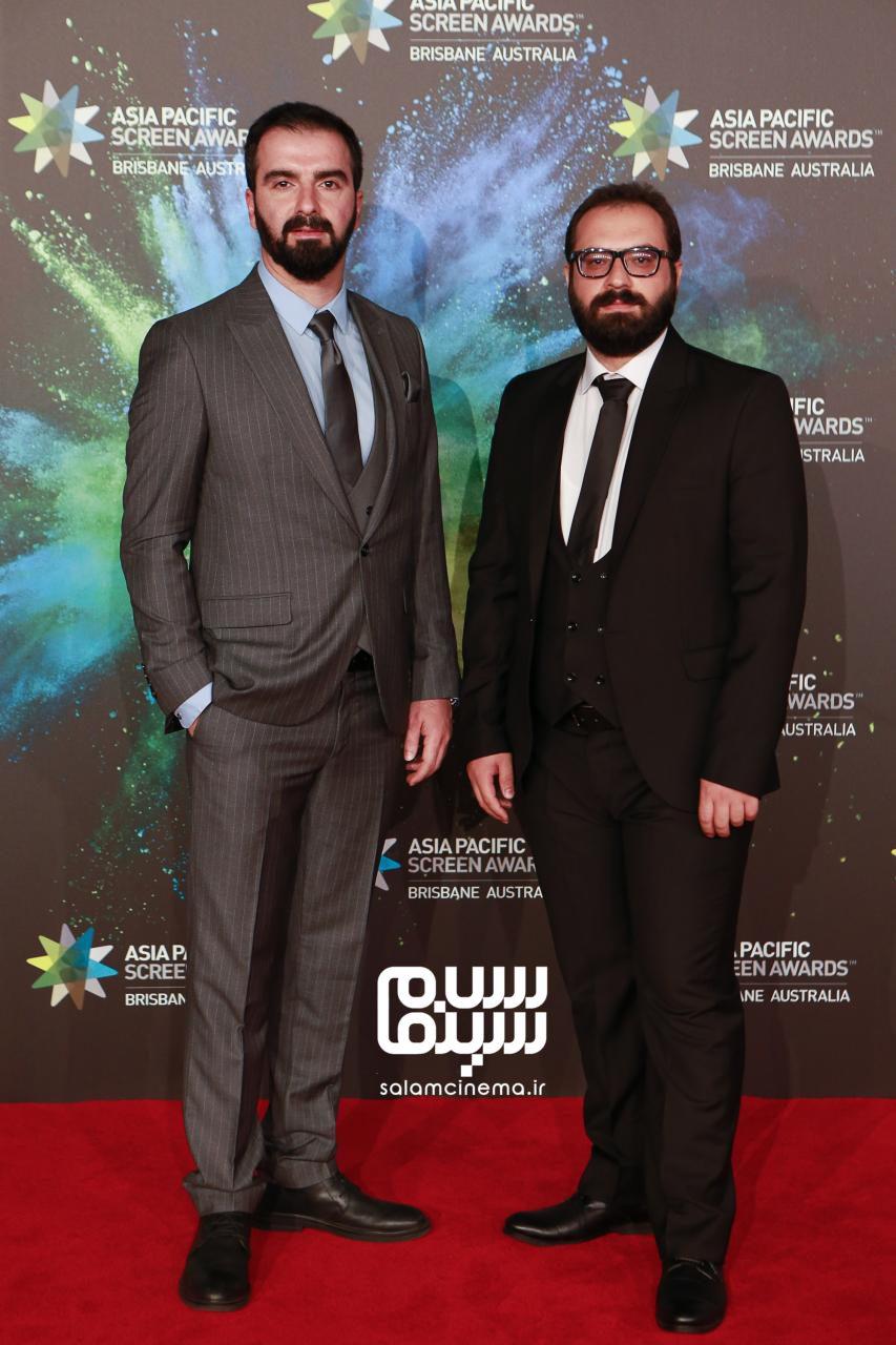 محسن قرائی و محمد داودی در جشنواره فیلم آسیاپاسیفیک 2019