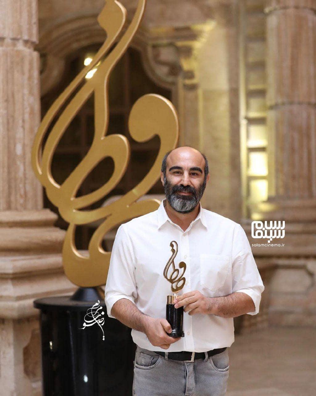 محسن تنابنده در بیستمین جشن حافظ