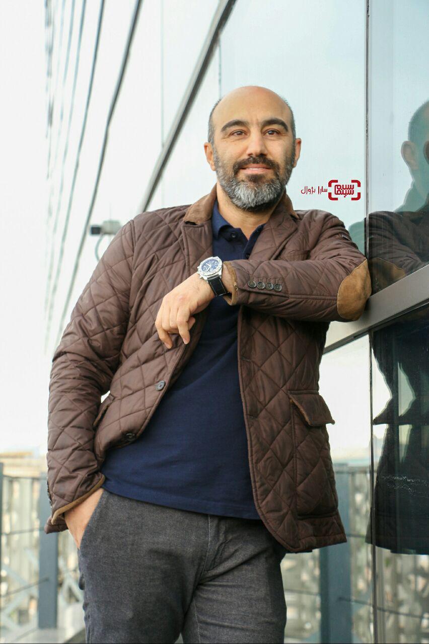 محسن تنابنده در روز ششم سی و هفتمین جشنواره جهانی فیلم فجر