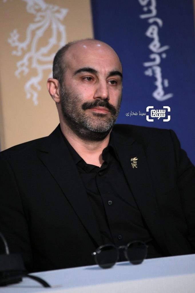 محسن تنابنده - نشست خبری فیلم «سه کام حبس» در فجر 38