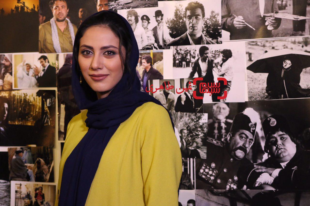 مونا فرجاد در سومین جشن عکاسان سینمای ایران