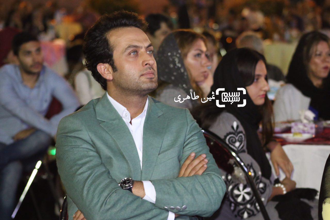 مصطفی زمانی در سومین جشن عکاسان سینمای ایران