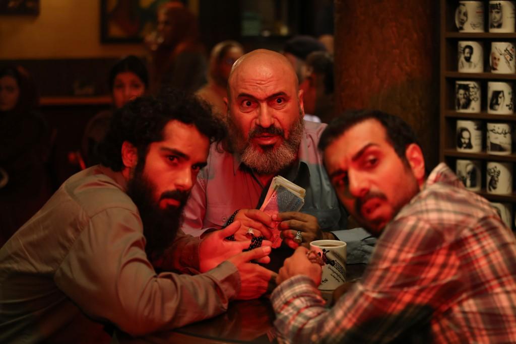 ساعد سهیلی، حمید فرخ نژاد و پولاد کیمیایی در فیلم سینمایی «گشت 2»