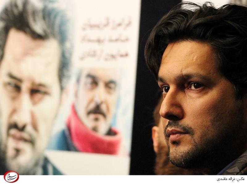 حامد بهداد در اکران خصوصی فیلم سینمایی «چهارشنبه خون به پا میشود» ساخته حماسه پارسا