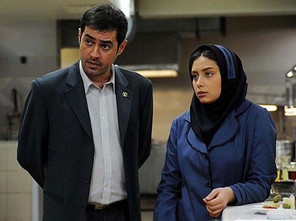 شهاب حسینی و  دیبا زاهدی در فیلم پنج ستاره