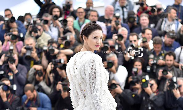 کترینا بلف در فتوکال فیلم «هیولای پول» در جشنواره فیلم کن 2016