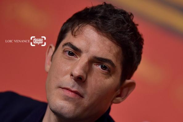 دامین بونار در کنفرانس خبری فیلم «عمودی ماندن» در جشنواره کن