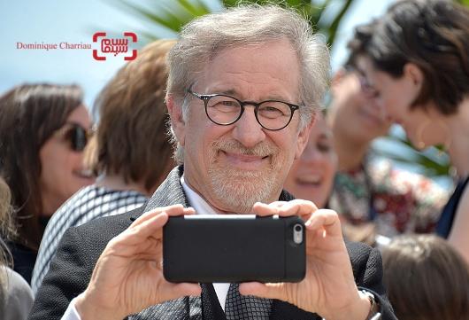 استیون اسپیلبرگ در فتوکال فیلم «غول بزرگ مهربان» در شصت و نهمین جشنواره فیلم کن