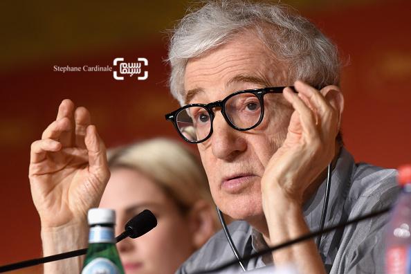 وودی آلن در کنفرانس خبری فیلم «کافه سوسایتی» در جشنواره کن 2016