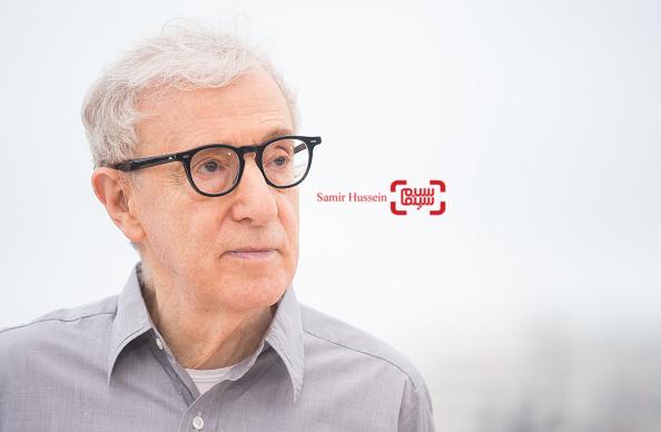 وودی آلن، کارگردان و نویسنده فیلم «کافه سوسایتی» در جشنواره کن 2016