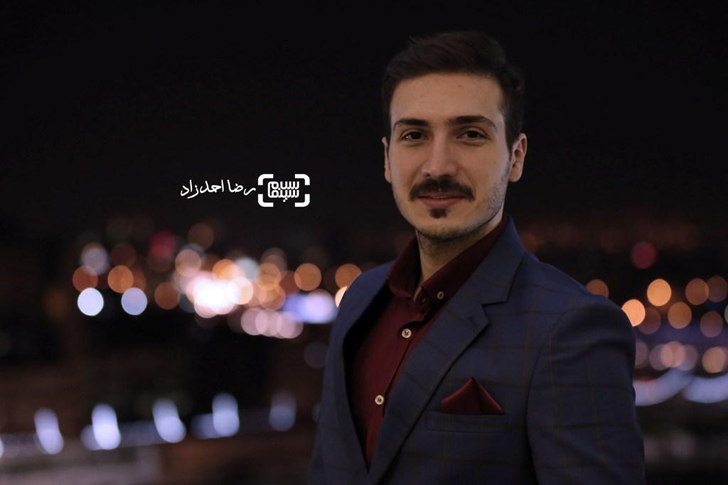 ابوالفضل میری در اکران فیلم «زیر سقف دودی» در جشنواره فیلم فجر35