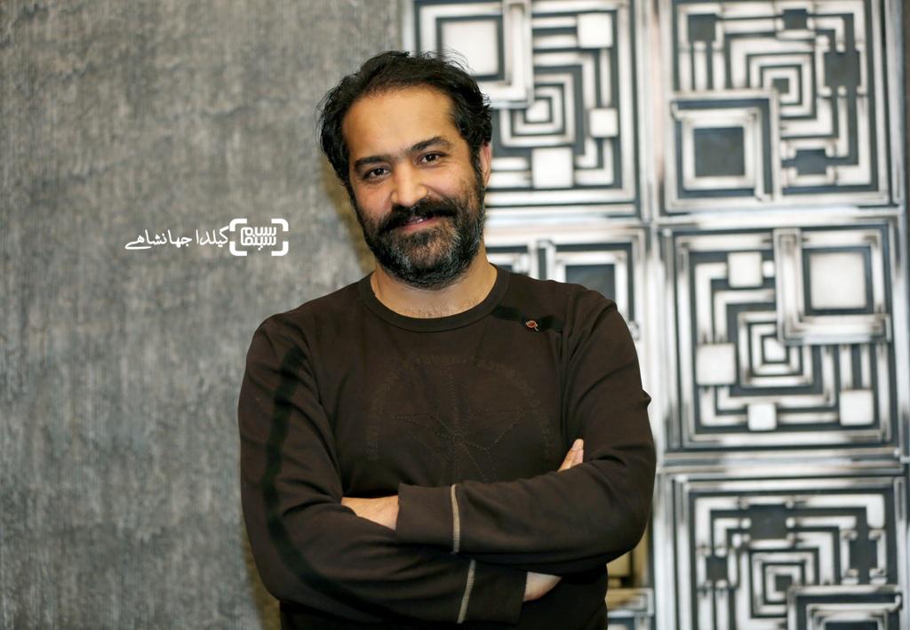 افشین هاشمی در اکران خصوصی فیلم «لاک قرمز»
