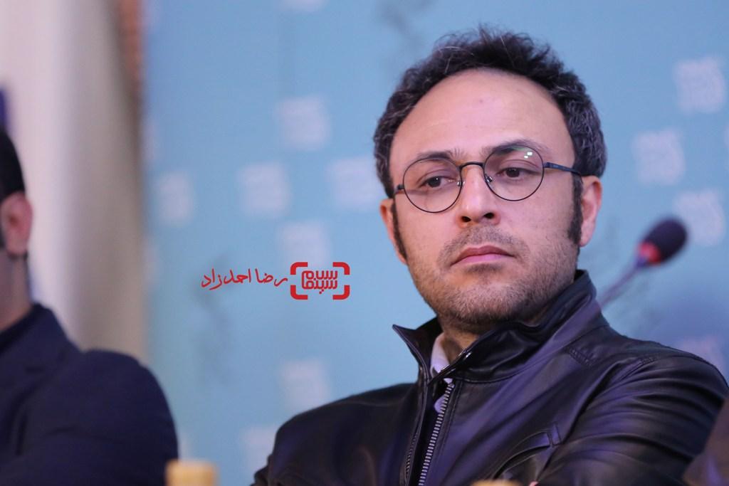 علیرضا کمالی در نشست خبری «سد معبر» در سی و پنجمین جشنواره فیلم فجر