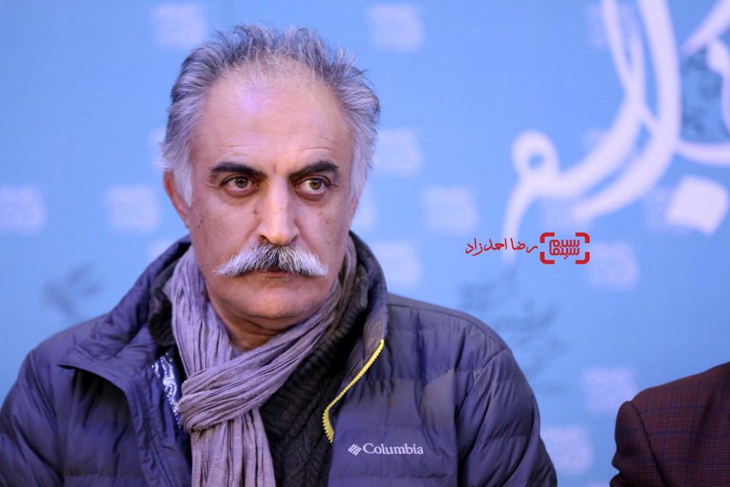 علیرضا شجاع نوری در نشست خبری فیلم «کمدی انسانی» در جشنواره فیلم فجر35