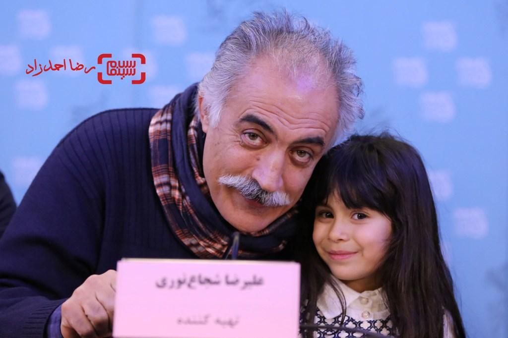 علیرضا شجاع نوری در نشست خبری «شنل» در سی و پنجمین جشنواره فیلم فجر