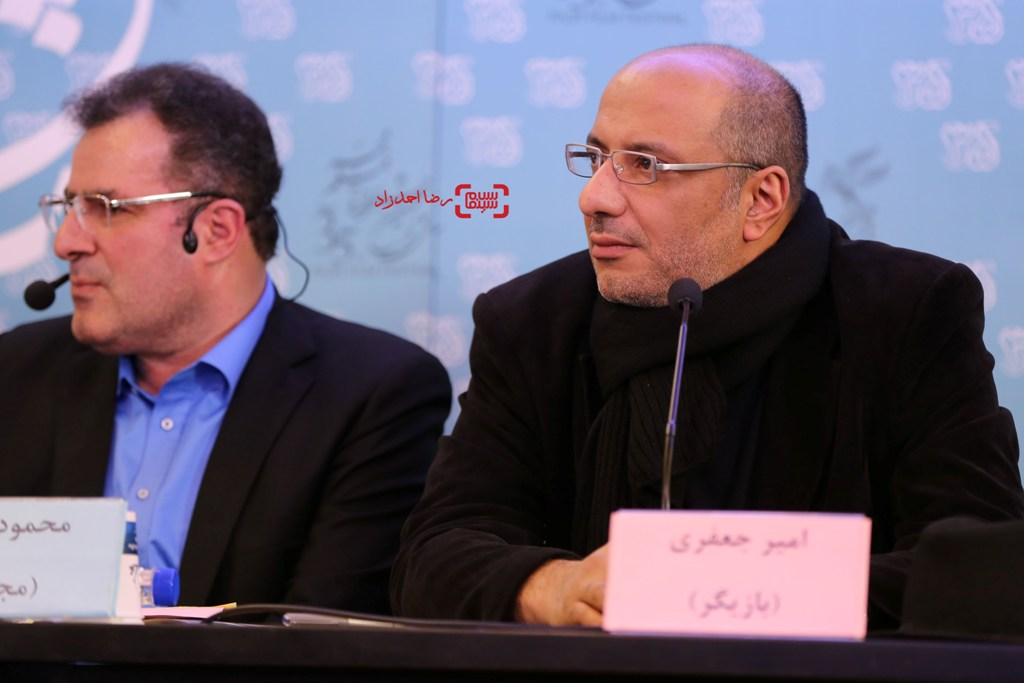 امیر جعفری در اکران «آزاد به قید شرط» در جشنواره فیلم فجر35