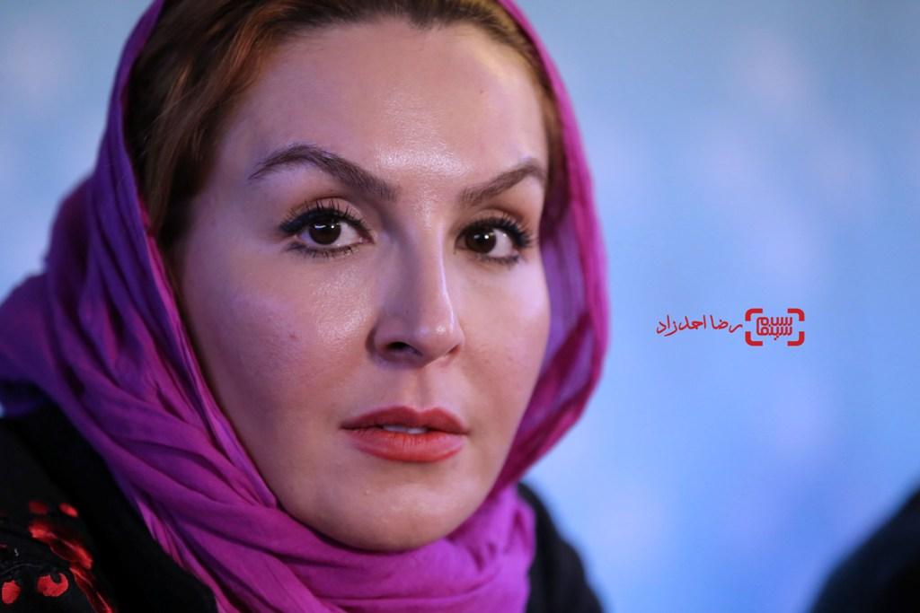آزیتا ترکاشوند در نشست خبری «اشنوگل» در جشنواره فیلم فجر35