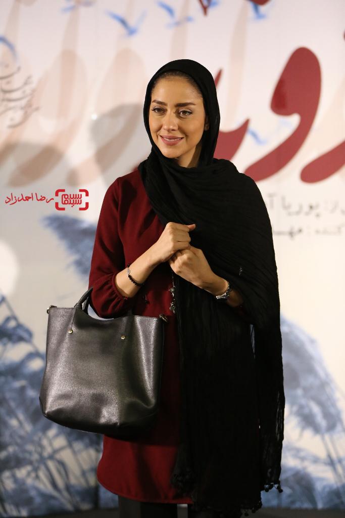 بهاره کیان افشار در اکران خصوصی فیلم سینمایی «اروند»