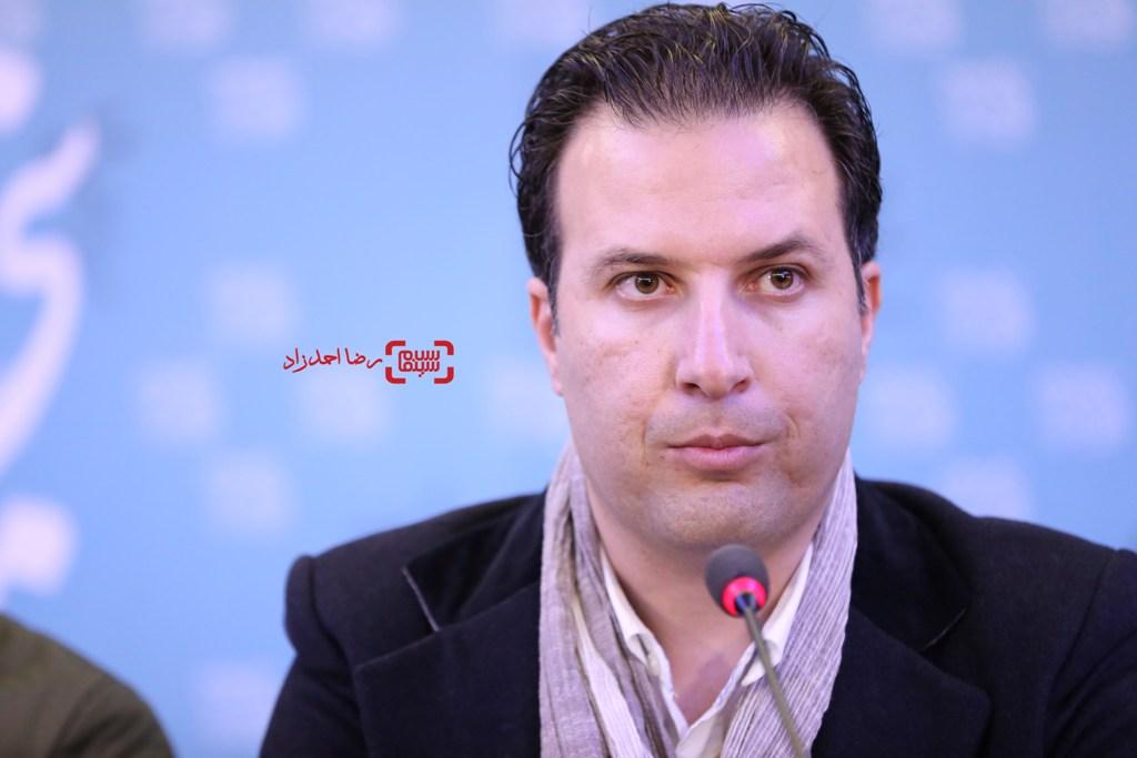 بهمن کامیار در نشست خبری «سد معبر» در سی و پنجمین جشنواره فیلم فجر