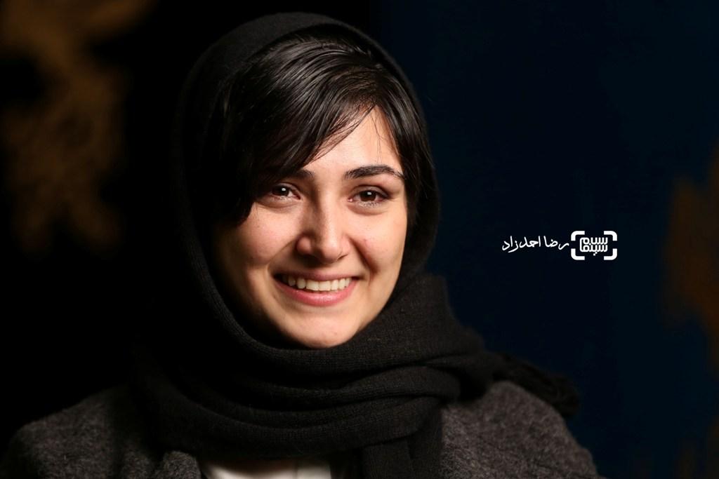 باران کوثری در نشست خبری فیلم «سد معبر» در سی و پنجمین جشنواره فیلم فجر