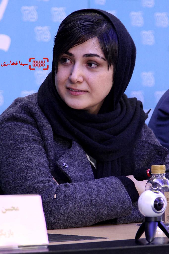 باران کوثری در نشست خبری «سد معبر» در جشنواره فیلم فجر35