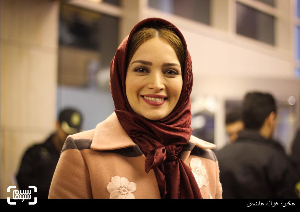 بهنوش طباطبایی در اکران فیلم «سیانور» در کاخ سی و چهارمین جشنواره فیلم فجر