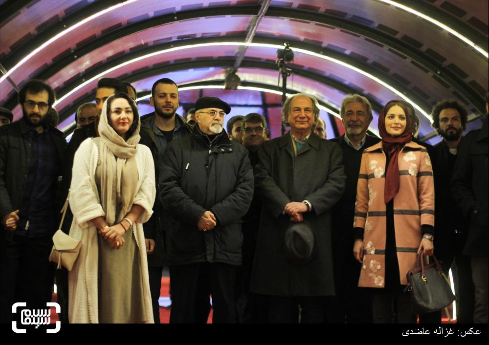 فرش قرمز فیلم «سیانور» در کاخ سی و چهارمین جشنواره فیلم فجر