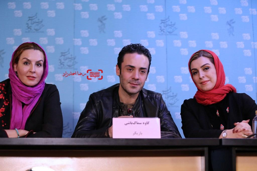 نشست خبری فیلم «اشنوگل» در سی و پنجمین جشنواره فیلم فجر