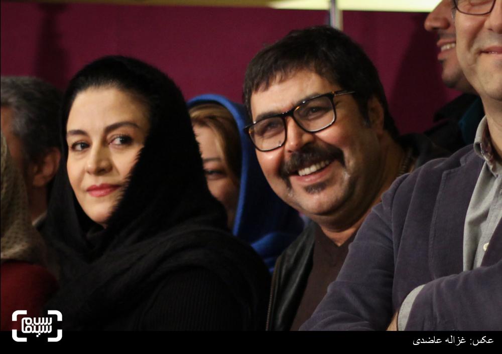 فرهاد اصلانی و مریلا زارعی در اکران فیلم «دختر» در کاخ سی و چهارمین جشنواره فیلم فجر