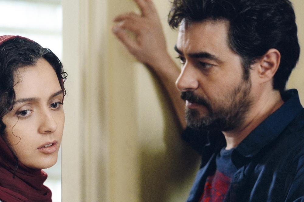 شهاب حسینی و ترانه علیدوستى در نمایی از «فروشنده»(the sales man)