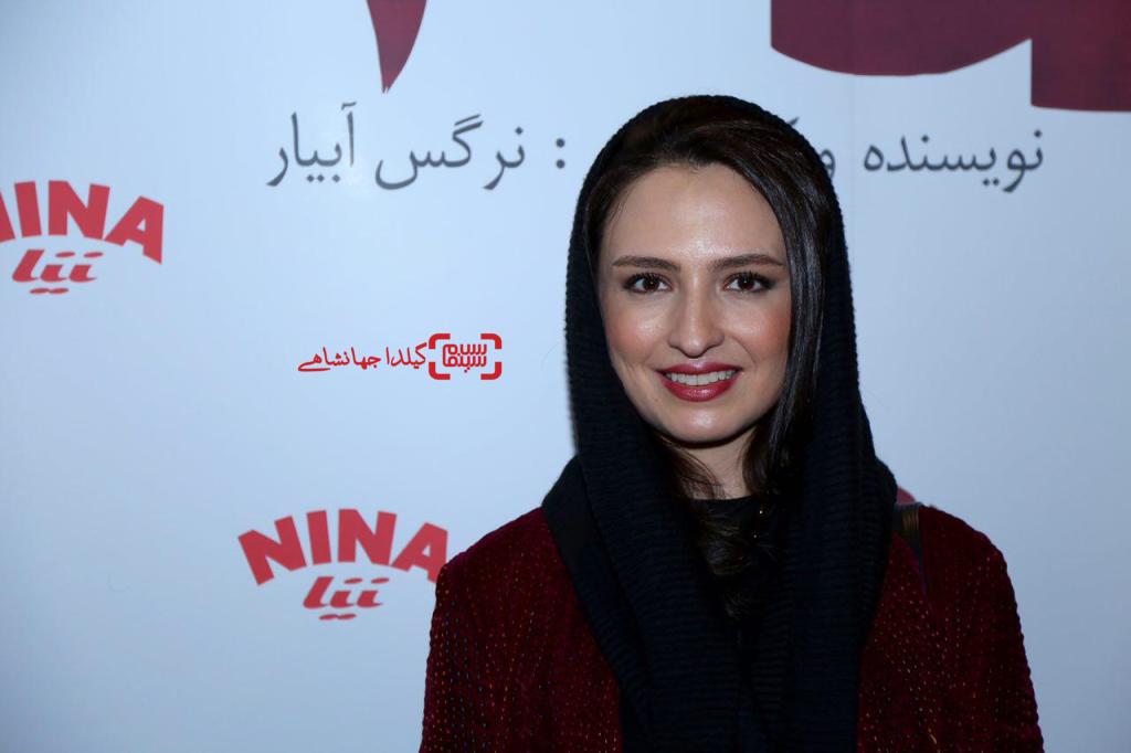 گلاره عباسی در اکران خصوصی فیلم «نفس»